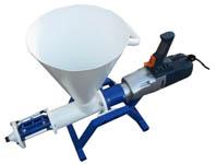 Установка подачи раствора  УВН-1_220В мини с бункером 10 л /заливка трещин, и.т.п./