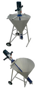 Установки подачи раствора УВН-3 с бункером 50 л /заливка трещин, и.т.п./