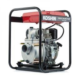 Дизельные мотопомпы Koshin (Япония) для слабозагрязненных вод