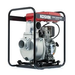 Дизельные мотопомпы Koshin (Япония) для загрязненных вод