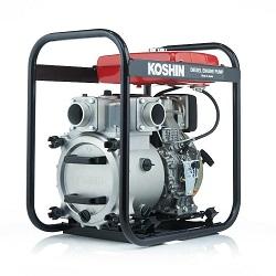 Дизельные мотопомпы Koshin (Япония) для сильнозагрязненных вод