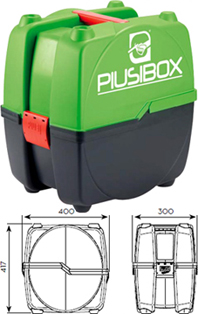 Ящик для Piusibox