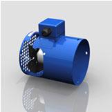 Встроенный вентилятор электродвигателя