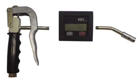 Пистолет-расходомер для смазки 18104+18115